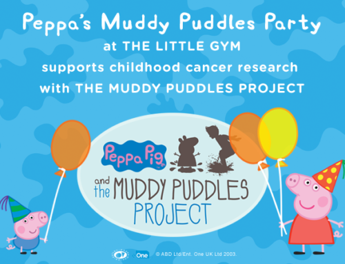 The Little Gym Launches Peppa's Muddy Puddles Parties