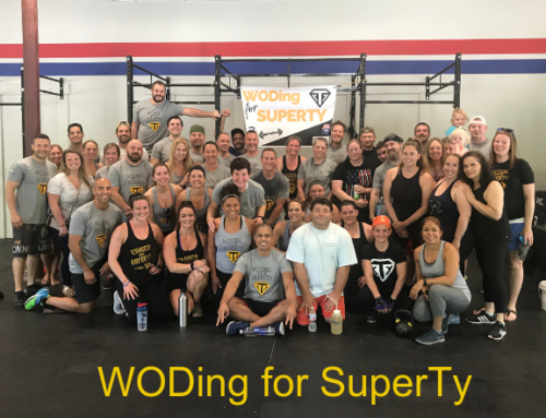 Third Annual WODing for SuperTy