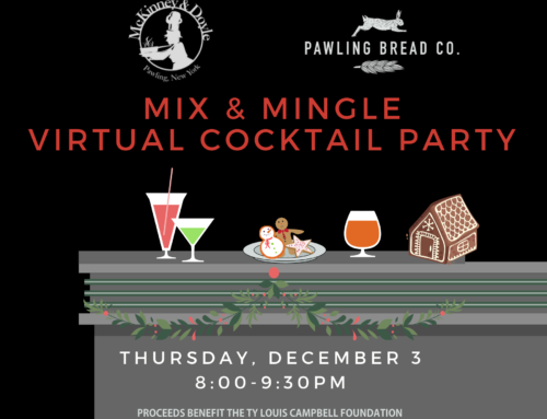 Mix and Mingle with us (virtually) on December 3rd!